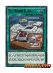 The Kaiju Files - BLRR-EN091 - Ultra Rare - 1st Edition