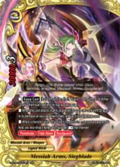 Messiah Arms, Siegblade [S-BT06/0019EN RR (FOIL)] English