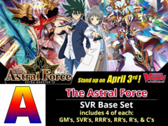 # The Astral Force [V-EB13 ID (A)] SVR Base Set [4 of each SVR's, RRR's, RR's, R's, & C's (248 cards)]