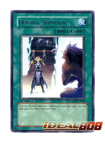 Double Summon - TAEV-EN056 - Rare - Unlimited Edition