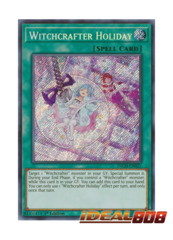 Witchcrafter Holiday - INCH-EN021 - Secret Rare - 1st Edition