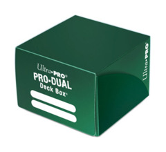Ultra Pro Dual Deck Box - Green (#82990)