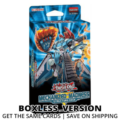 Mechanized Madness (1st Edition) Yugioh Structure Deck (Boxless)