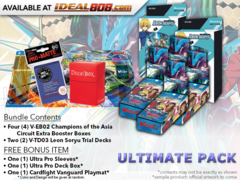 CFV-V-EB02  ULTIMATE PACK - Get x4 Champions of the Asia Circuit Cardfight Vanguard Booster Box, x2 V-TD03 + FREE Bonus