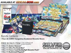 BFE-S-BT01  Bundle (B) Silver - Get x4 Gargantua Awakened Booster Box + FREE Bonus Items * PRE-ORDER Ships Aug.31