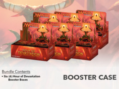 Hour of Devastation (HOU) Booster  Case (6 Boxes)