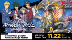 CFV-V-BT07 Infinideity Cradle (English) Cardfight Vanguard V-Booster  Case [20 Boxes]
