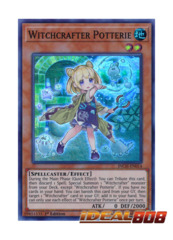 Witchcrafter Potterie - INCH-EN014 - Super Rare - 1st Edition