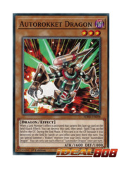 Autorokket Dragon - SDRR-EN008 - Common - 1st Edition