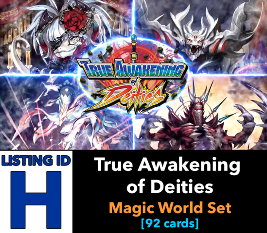 # True Awakening of Deities [S-BT03 ID (H)]