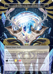 Awakened Magic Stone, the Earth [LEL-096 R (Textured Foil)] English