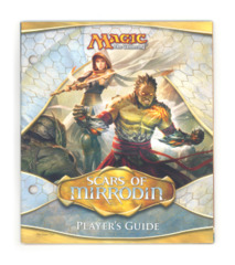 Magic the Gathering Player's Guide w/Checklist - Scars of Mirrodin