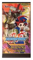 BFE-CP01 Burning Valor (English) Future Card Buddyfight Character Pack Booster Pack