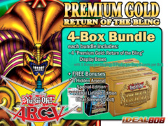 Yugioh PGD2 Bundle (B) - Get x4 Premium Gold: Return of the Bling Display Boxes plus Free Gifts