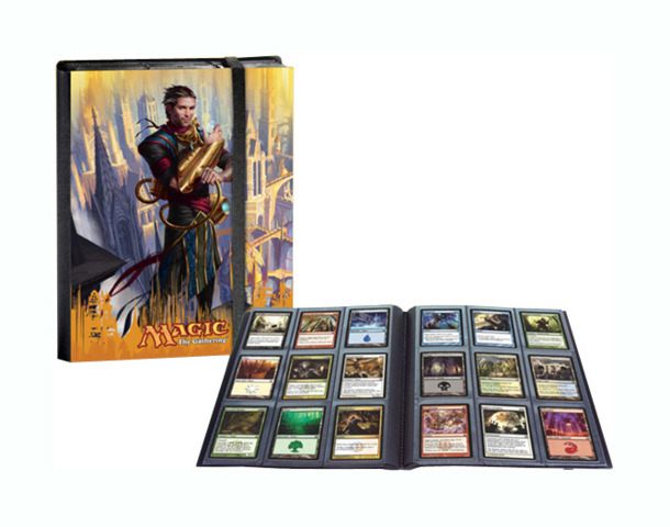 Magic the Gathering Dragon's Maze 9 Pocket Portfolio Album - Ral Zarek