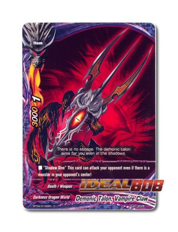 Demonic Talon, Vampire Claw - BT04/0102EN (C) Common