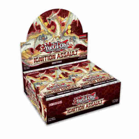 Ignition Assault (1st Edition) Yugioh Booster Box [24 Packs] * PRE-ORDER Ships Jan.31
