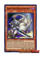Dragon Buster Destruction Sword - MP16-EN190 - Common - 1st Edition
