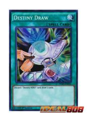 Destiny Draw - DESO-EN014 - Super Rare - 1st Edition
