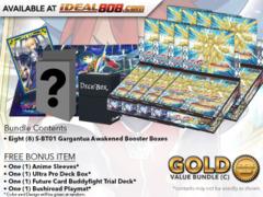 BFE-S-BT01  Bundle (C) Gold - Get x8 Gargantua Awakened Booster Box + FREE Bonus Items * PRE-ORDER Ships Aug.31