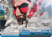 And, in 850…… [AOT/S35-E099R RRR (FOIL)] English