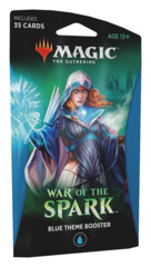 War of the Spark (WAR) Themed Booster Pack - Blue [35 cards]