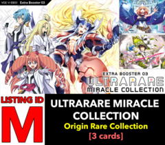 # ULTRARARE MIRACLE COLLECTION [V-EB03 ID (M)] Origin Rare Collection x1 [Includes 1 of each OR's (3 cards)]
