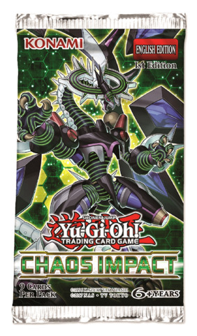 Chaos Impact (1st Edition) Yugioh Booster Pack [9 Cards]