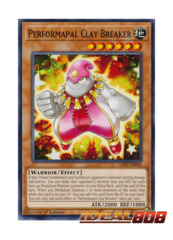 Performapal Clay Breaker - SAST-EN096 - Common - 1st Edition