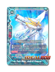 Twin Star, Jack & Fang [D-BT01/0049EN R (FOIL)] English
