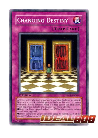 Near Mint ABPF-EN063 1st Edition - Common 3 x Changing Destiny