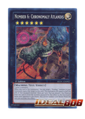 Number 6: Chronomaly Atlandis - REDU-EN092 - Secret Rare - 1st Edition