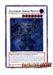 Blackwing Armor Master - CRMS-EN041 - Ultimate Rare - Unlimited Edition