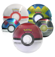 Pokeball Tin - Random Assortment (Pokeball / Premier Ball / Quick Ball / Luxury Ball)