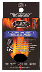 Tournament Black Sleeves Large (100ct)