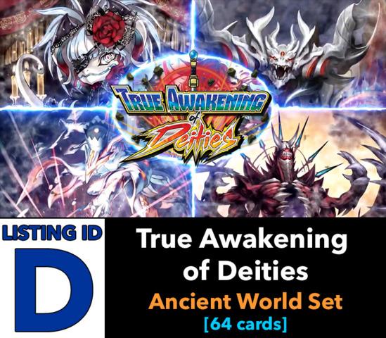 # True Awakening of Deities [S-BT03 ID (D)]