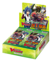 CFV-BT07 Rampage of the Beast King (English) Cardfight Vanguard Booster Box
