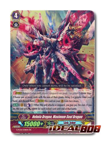 Nebula Dragon, Maximum Seal Dragon - G-FC01/038EN - RR