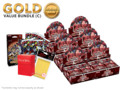 Yugioh Raging Tempest Bundle (C) Gold - Get x6 Booster Boxes + Bonus Items (See Description)
