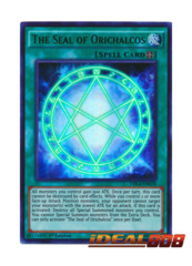 The Seal of Orichalcos - DRL3-EN070 - Ultra Rare - 1st Edition