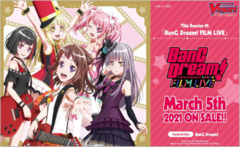 CFV-V-TB01  BUNDLE (B) Silver - Get x6 BanG Dream! FILM LIVE CFV Title Booster Box + FREE Bonus Items * PRE-ORDER Ships Mar.05