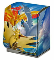 Pokemon - Deck Box - Articuno / Zapdos / F Tag Team GX (includes Dividers)