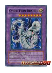 Cyber Twin Dragon - CRV-EN035 - Super Rare - 1st Edition