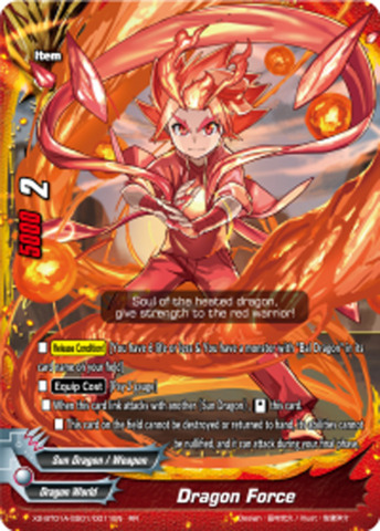 Dragon Force [X2-BT01A-SS01/0011EN RR (FOIL)] English