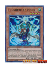 Thunderclap Monk - SAST-EN026 - Super Rare - 1st Edition