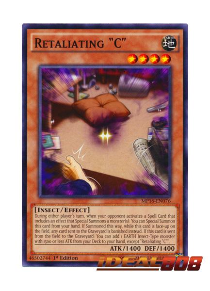 """1st Edition 3 x Retaliating /""""C/"""" Near Mint CORE-EN045 - Common"""
