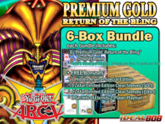 Yugioh PGD2 Bundle (C) - Get x6 Premium Gold: Return of the Bling Display Boxes plus Free Gifts