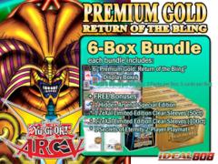Yugioh PGD2 Bundle (C) - Get x6 Premium Gold: Return of the Bling Display Boxes plus Free Gifts