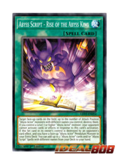 Abyss Script - Rise of the Abyss King - LED3-EN054 - Common - 1st Edition