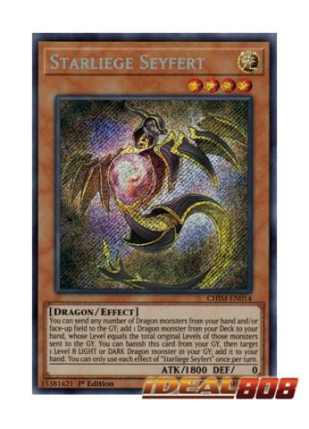 Starliege Seyfert CHIM-EN014 1st Edition NM